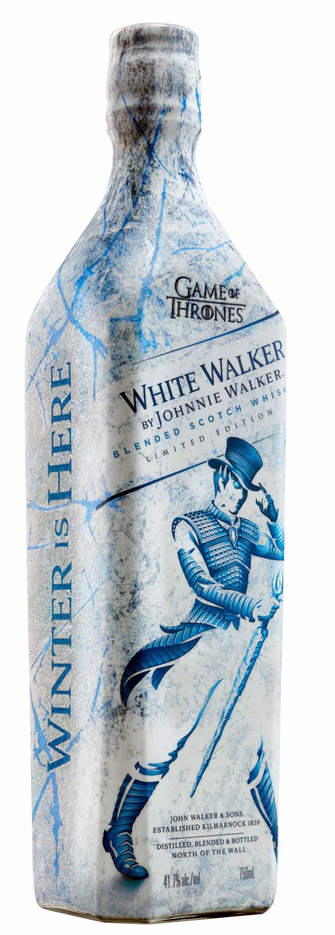 Johnnie Walker White Walker Limited Edition Whisky  0.7l 41,7%