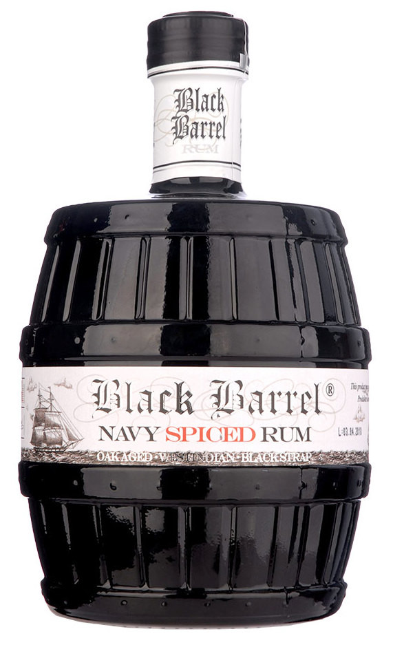 A.H. Riise Black Barrel Navy Spiced Rum 0,7l 40%
