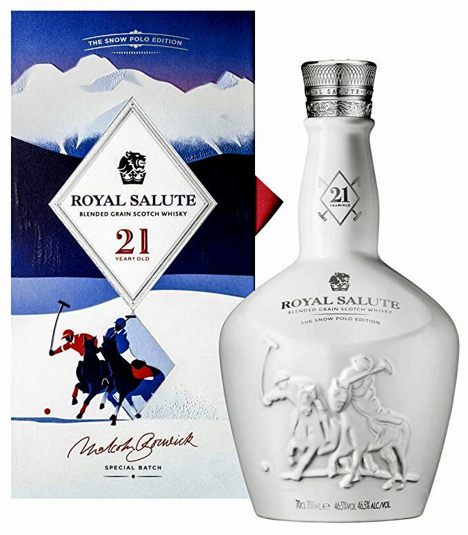Royal Salute 21 éves Snow Polo  0.7l