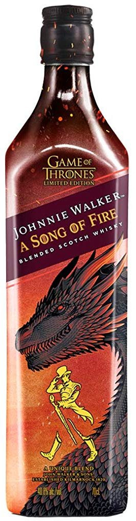 JOHNNIE WALKER SONG OF FIRE WHISKY 0,7l