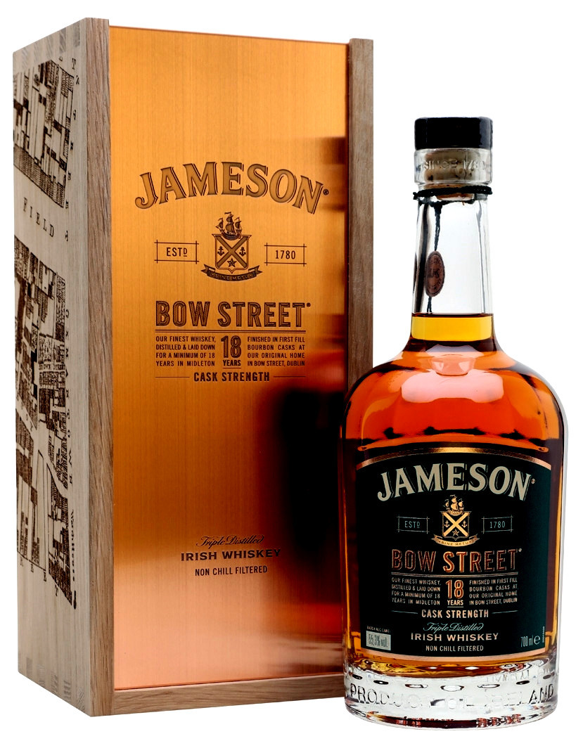 Jameson 18 Years Bow Street Whiskey 0,7l  55,3%